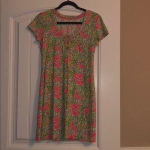 Short sleeve Lilly Pulitzer dress 100% Pima Cotton